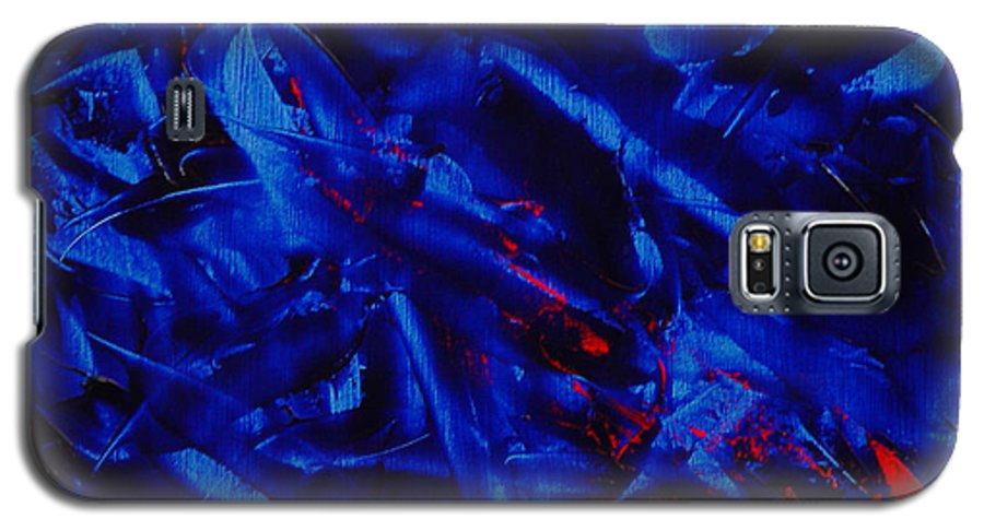 Abstract Galaxy S5 Case featuring the painting Grandma IIi by Dean Triolo
