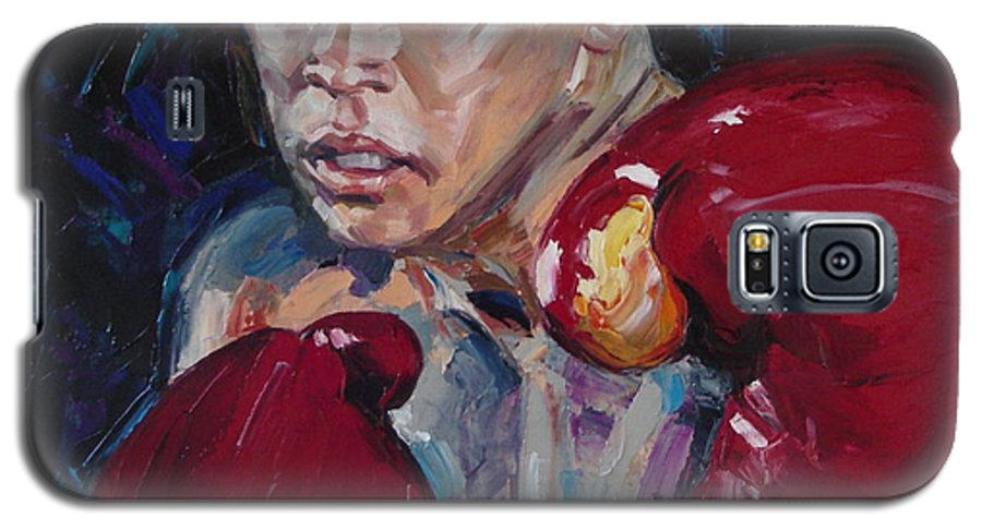 Figurative Galaxy S5 Case featuring the painting Great Ali by Sergey Ignatenko