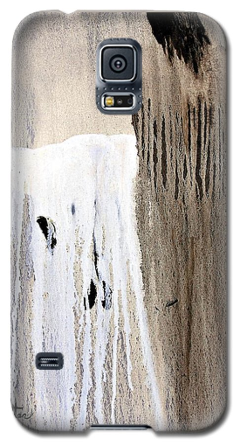 Native American Galaxy S5 Case featuring the painting Great Spirit by Patrick Trotter