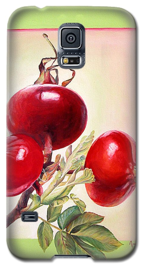 Still Life Galaxy S5 Case featuring the painting Grenadine by Muriel Dolemieux