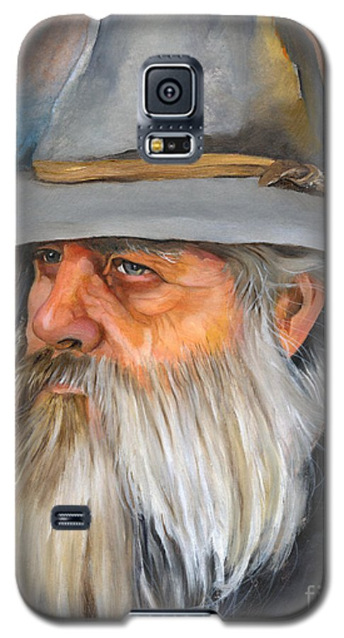 Wizard Galaxy S5 Case featuring the painting Grey Days by J W Baker