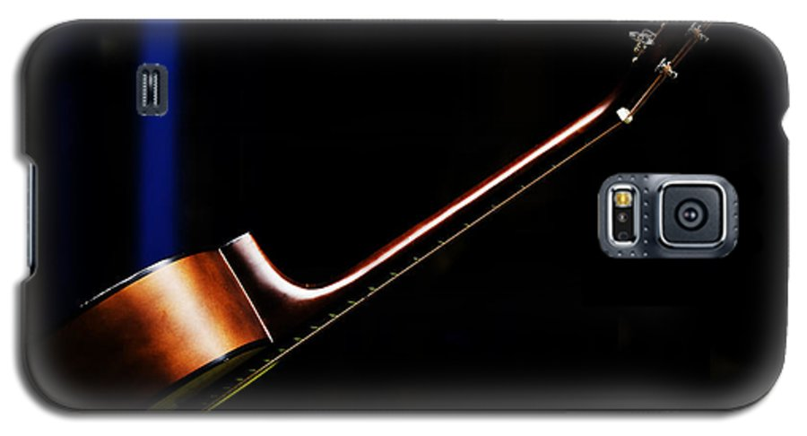 Guitar Galaxy S5 Case featuring the photograph Guitar by Sheila Smart Fine Art Photography