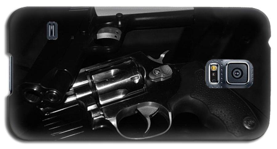 Guns Galaxy S5 Case featuring the photograph Guns And More Guns by Rob Hans