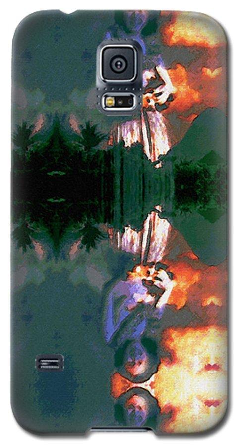 Rainbow Colors Digital Galaxy S5 Case featuring the photograph Haili Moe by Kenneth Grzesik