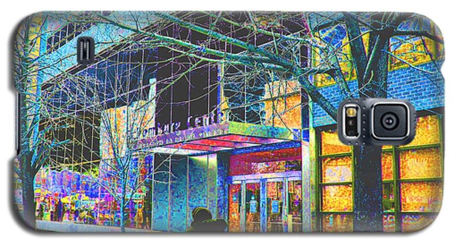 Harlem Galaxy S5 Case featuring the photograph Harlem Street Scene by Steven Huszar