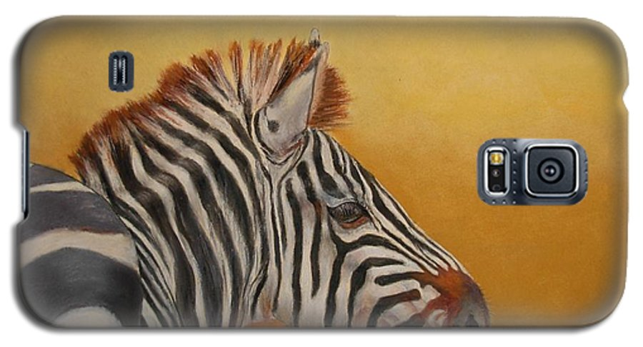 Africa Galaxy S5 Case featuring the painting Hello Africa by Ceci Watson