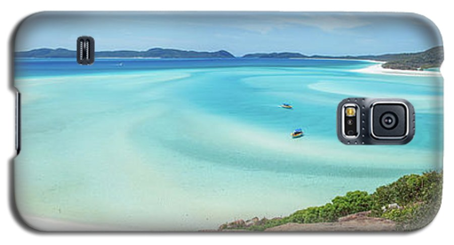 Australia Galaxy S5 Case featuring the photograph Hill Inlet Lookout by Az Jackson