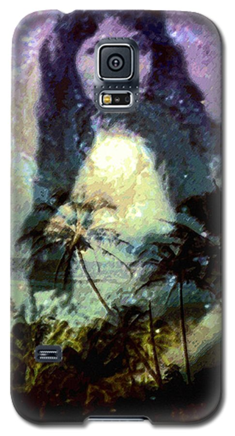 Tropical Interior Design Galaxy S5 Case featuring the photograph Ho Omana O by Kenneth Grzesik