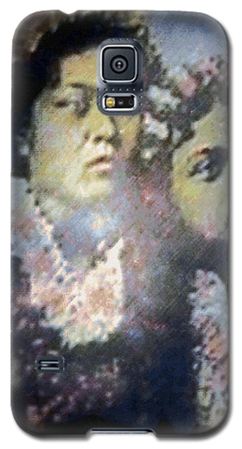 Tropical Interior Design Galaxy S5 Case featuring the photograph Hula Kaika Ma Hine by Kenneth Grzesik