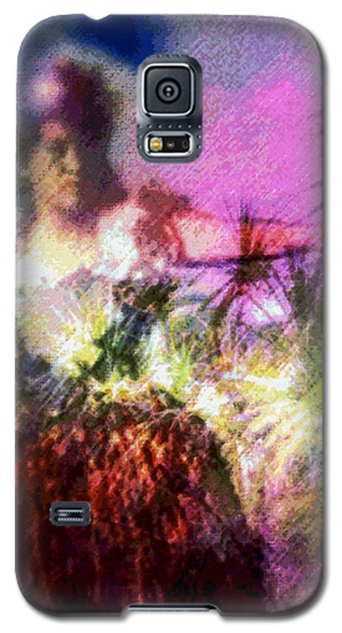 Tropical Interior Design Galaxy S5 Case featuring the photograph Hula Mai Oe by Kenneth Grzesik