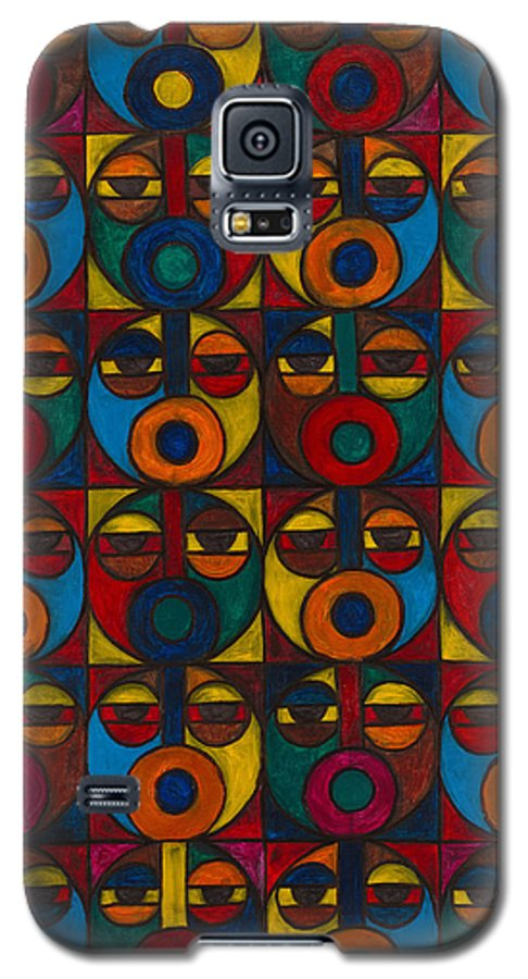 Galaxy S5 Case featuring the painting Humanity by Emeka Okoro