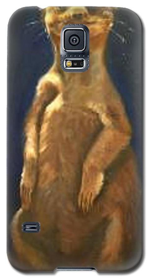 For Availability And Prices Of Limited Edition Prints/giclees Galaxy S5 Case featuring the painting I See You by Greg Neal
