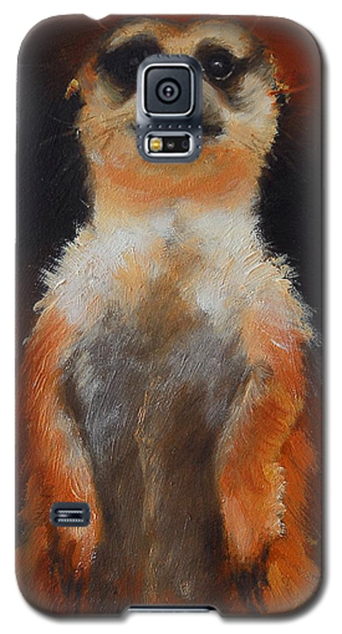 Oil Galaxy S5 Case featuring the painting I See You Too by Greg Neal