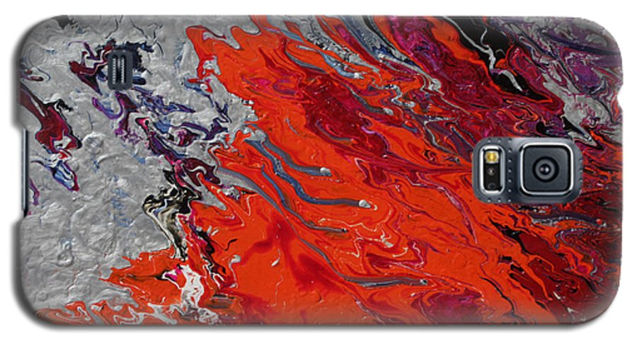 Fusionart Galaxy S5 Case featuring the painting Ignition by Ralph White