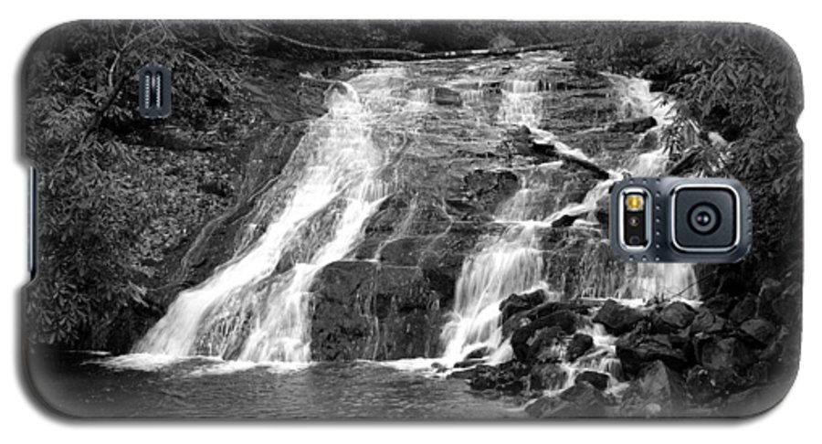 Nature Galaxy S5 Case featuring the photograph Indian Falls At Deep Creek by Kathy Schumann