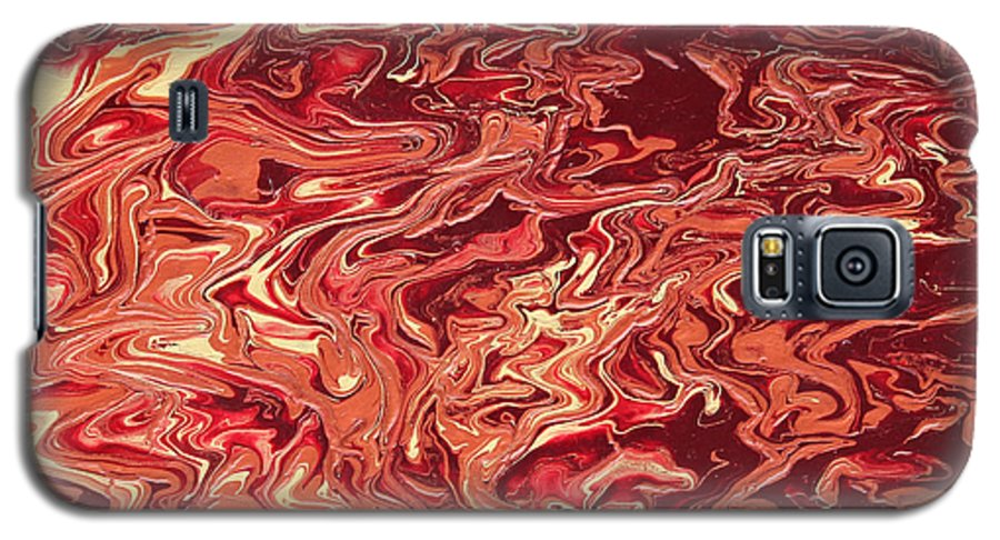 Fusionart Galaxy S5 Case featuring the painting Indulgence by Ralph White