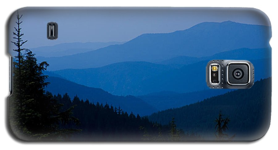 Mountain Galaxy S5 Case featuring the photograph Infinity by Idaho Scenic Images Linda Lantzy