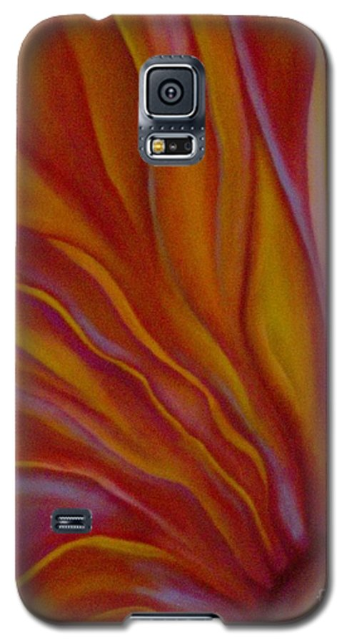 Floral Galaxy S5 Case featuring the painting Internal Floral by Sidra Myers