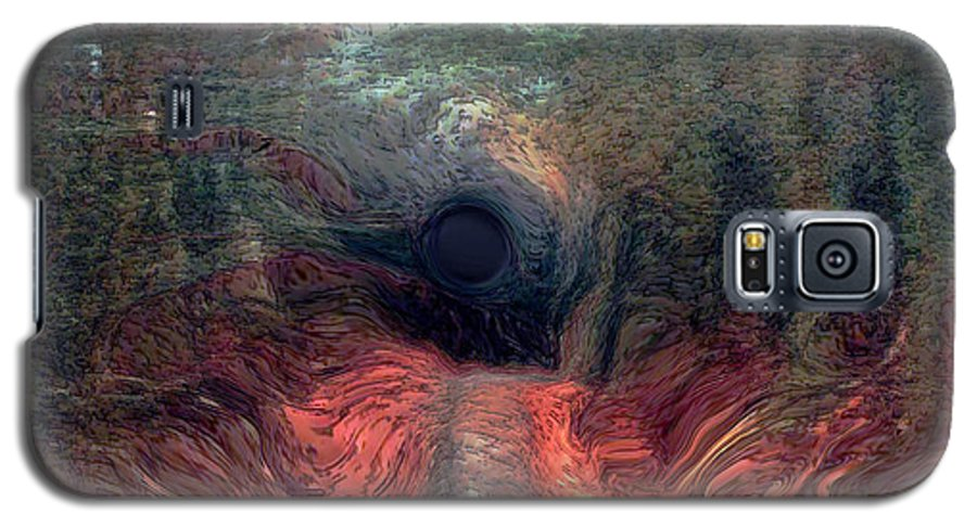 Forest Galaxy S5 Case featuring the photograph Into The Forest by Linda Sannuti