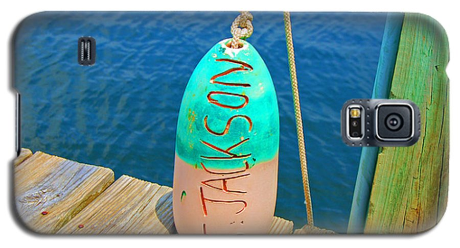 Water Galaxy S5 Case featuring the photograph Its A Buoy by Debbi Granruth