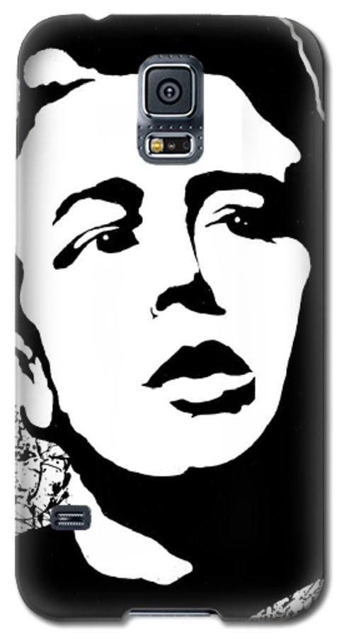 James Dean Galaxy S5 Case featuring the painting James Dean by Curtiss Shaffer