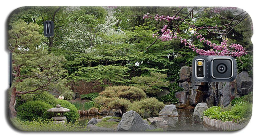Japanese Garden Galaxy S5 Case featuring the photograph Japanese Garden II by Kathy Schumann