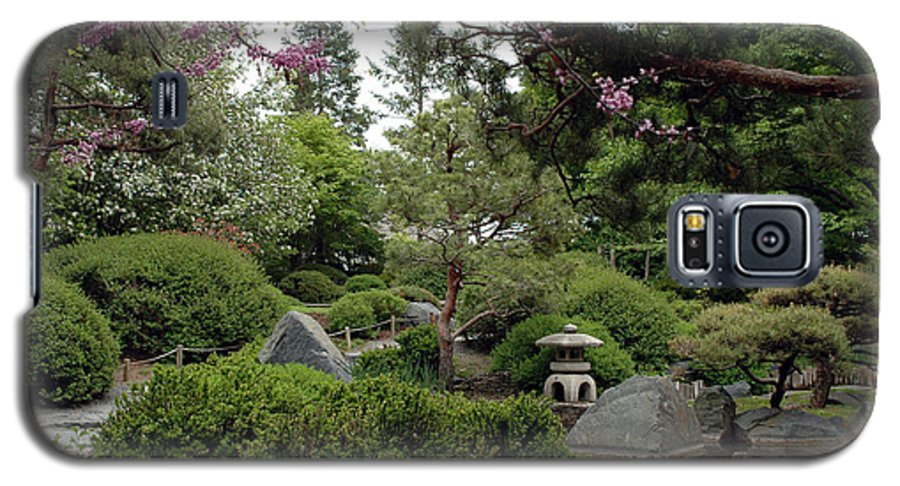 Japanese Garden Galaxy S5 Case featuring the photograph Japanese Garden IIi by Kathy Schumann