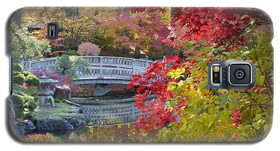 Gardens Galaxy S5 Case featuring the photograph Japanese Gardens by Idaho Scenic Images Linda Lantzy