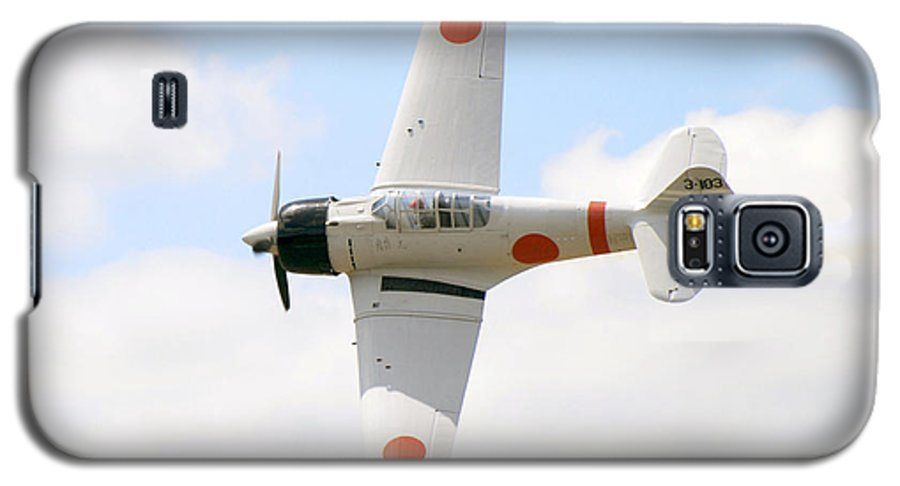Airplanes Galaxy S5 Case featuring the photograph Japanese Zero by Larry Keahey
