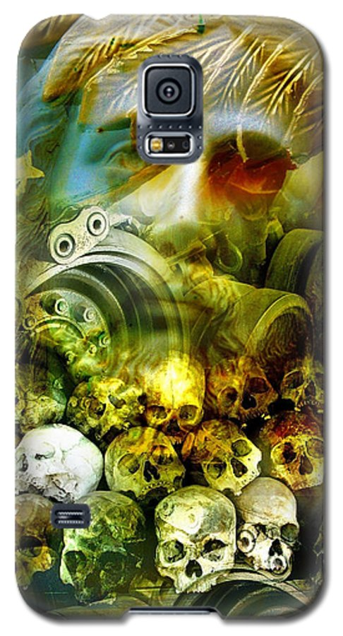 Jesus Galaxy S5 Case featuring the photograph Jesus Wept by Skip Hunt