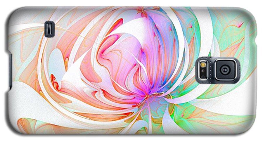 Digital Art Galaxy S5 Case featuring the digital art Joy by Amanda Moore