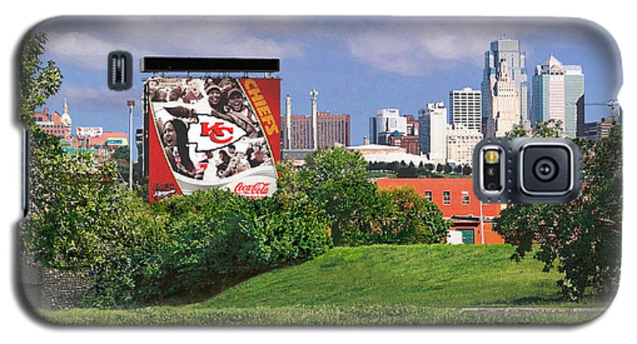 Landscape Galaxy S5 Case featuring the photograph Kansas City Sky Line by Steve Karol