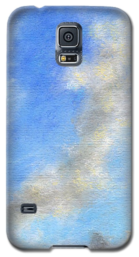 Coastal Decor Galaxy S5 Case featuring the painting Kauapea Evening by Kenneth Grzesik