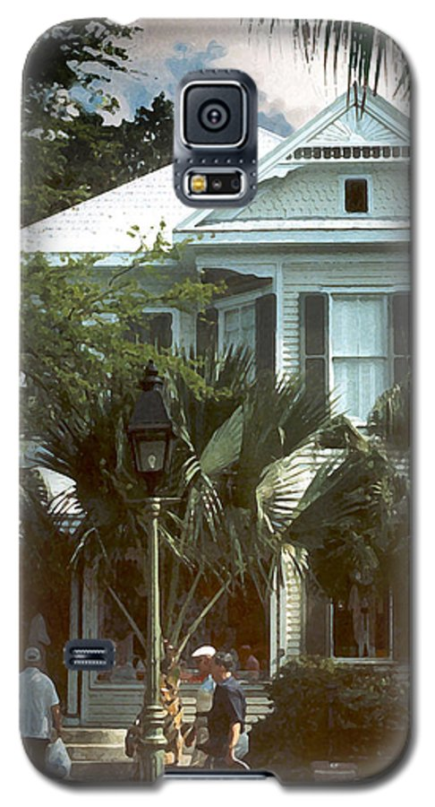 Historic Galaxy S5 Case featuring the photograph Keywest by Steve Karol