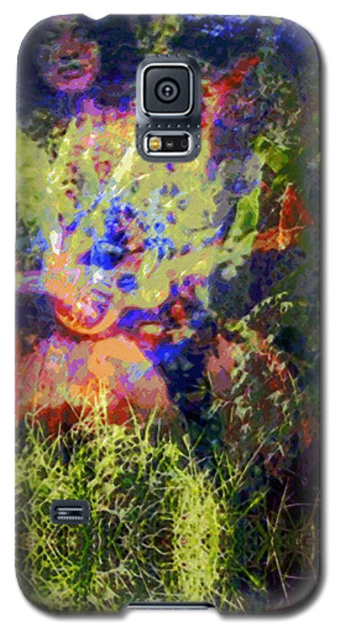 Rainbow Colors Digital Galaxy S5 Case featuring the photograph Kihapai O Ekena by Kenneth Grzesik