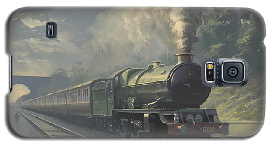Steam Galaxy S5 Case featuring the painting King Edward Vi by Richard Picton