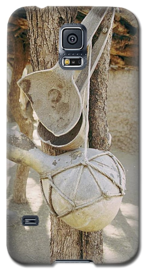 Tumacacori Galaxy S5 Case featuring the photograph Kitchen Utensils by Kathy McClure