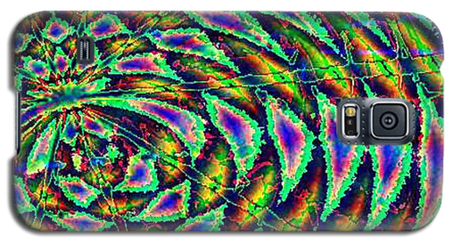Computer Art Galaxy S5 Case featuring the digital art Kiwi by Dave Martsolf