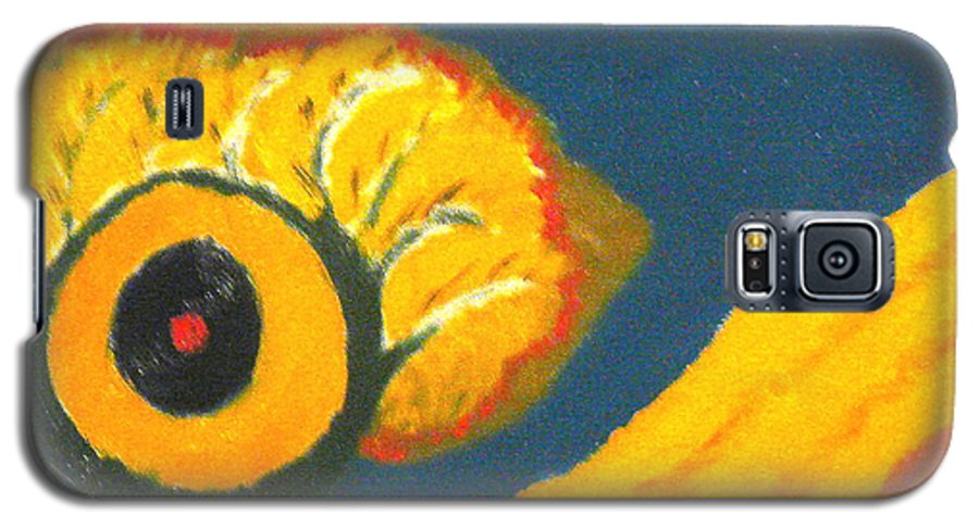 Galaxy S5 Case featuring the painting Krshna by R B