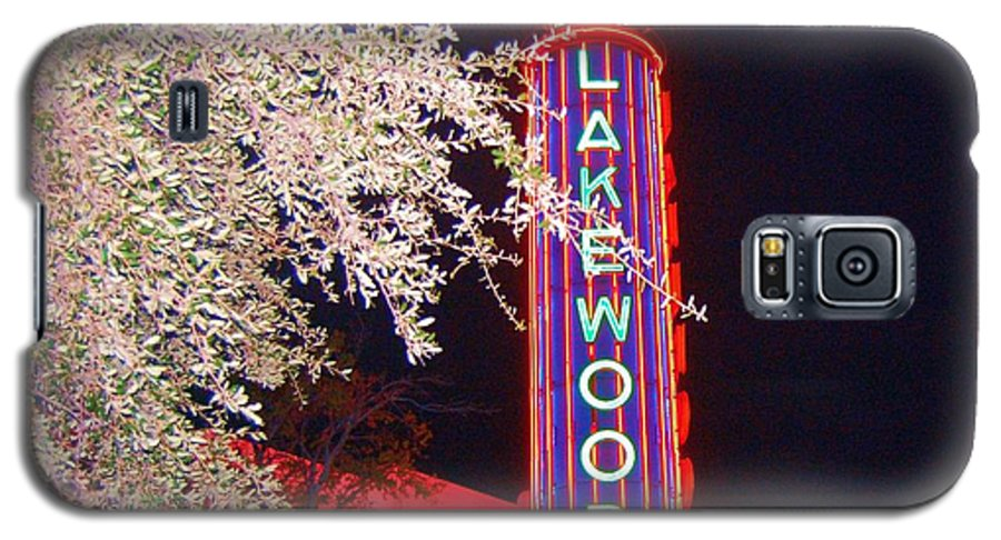 Theater Galaxy S5 Case featuring the photograph Lakewood Theater by Debbi Granruth