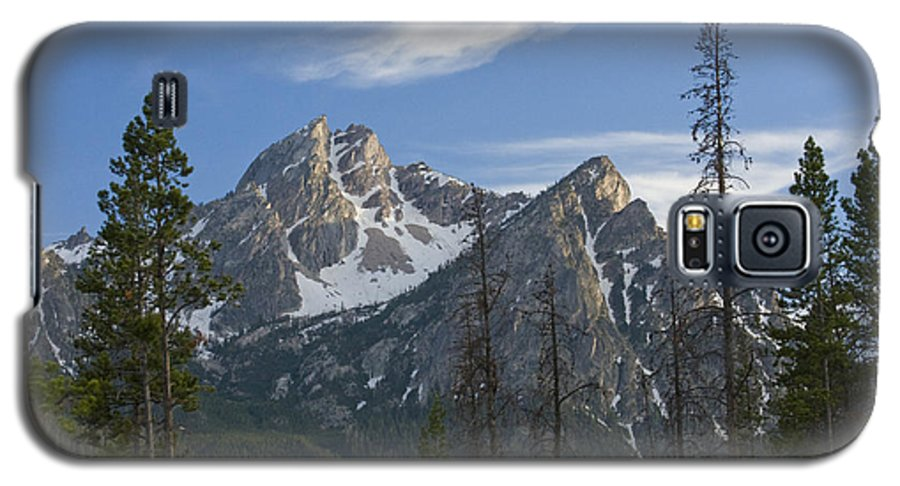 Majestic Galaxy S5 Case featuring the photograph Last Light On Mcgowan by Idaho Scenic Images Linda Lantzy