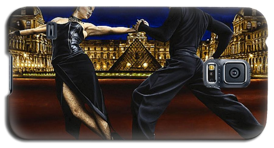 Tango Galaxy S5 Case featuring the painting Last Tango In Paris by Richard Young