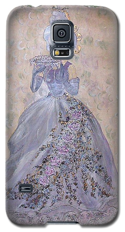 Still Life Galaxy S5 Case featuring the painting Lavender Lady by Phyllis Mae Richardson Fisher