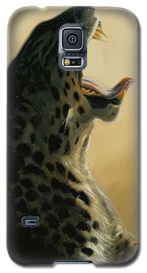 Painting Galaxy S5 Case featuring the painting Lazy Days by Greg Neal