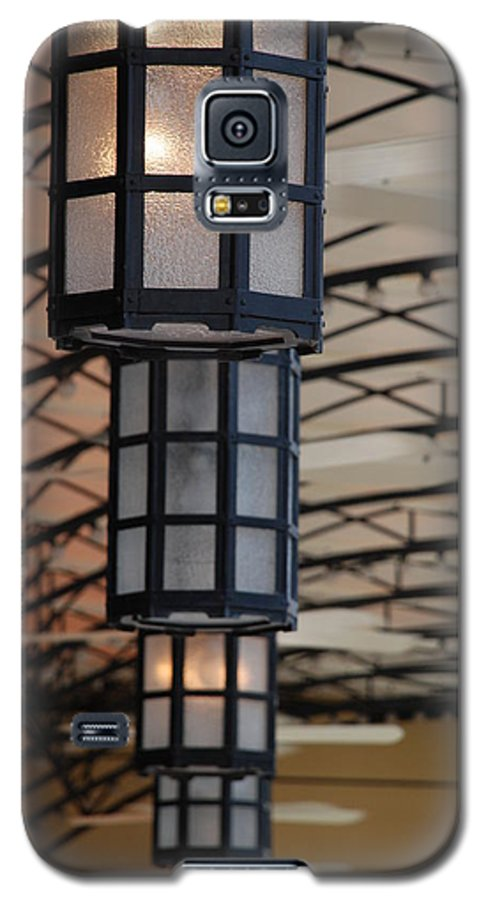 Architecture Galaxy S5 Case featuring the photograph Lights At City Place by Rob Hans