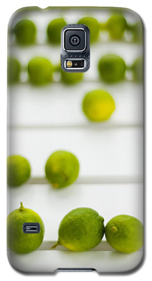 Green Galaxy S5 Case featuring the photograph Lime Green by Skip Hunt
