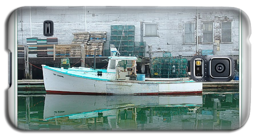 Landscape Galaxy S5 Case featuring the photograph Lobster Boat by Peter Muzyka