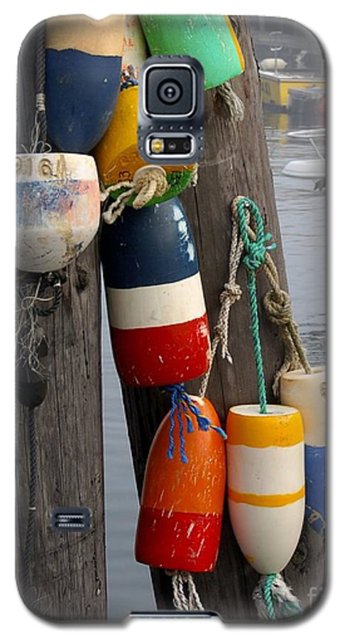 Lobster Galaxy S5 Case featuring the photograph Lobster Buoy At Water Taxi Pier by Faith Harron Boudreau