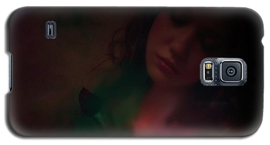 Headshot Galaxy S5 Case featuring the photograph Love Can Hurt by Jeff Burgess