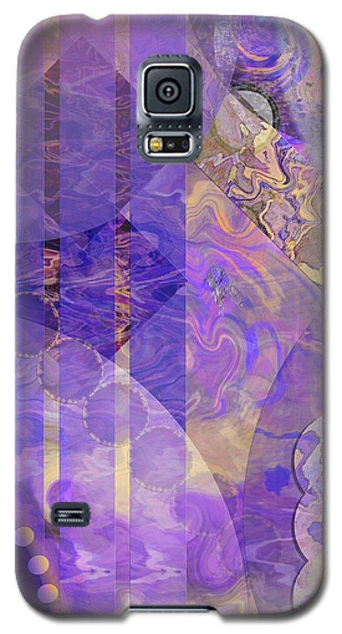 Lunar Impressions 2 Galaxy S5 Case featuring the digital art Lunar Impressions 2 by John Beck